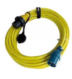 Cable 16 Amp 25 metros toma puerto CEE