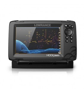 Hook Reveal 7 HDI 83/200 CHIRP DownScan Lowrance