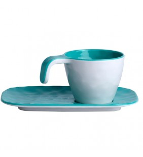 Set café Summer Acqua 6 uds.