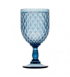 Copa de vino Diamond Blue 6 uds.