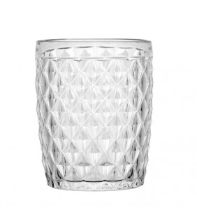 Vaso agua Diamond Clear 6 uds.