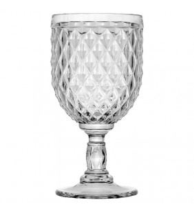 Copa de vino Diamond Clear 6 uds.