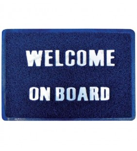 Alfombra Welcome on Board GS