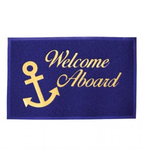 Alfombra antideslizante 40 x 60 cm Welcome On Board