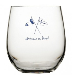 Vaso de agua antideslizante Welcome on board