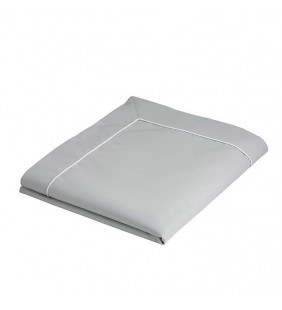 Mantel 115 X 100 gris Waterproof