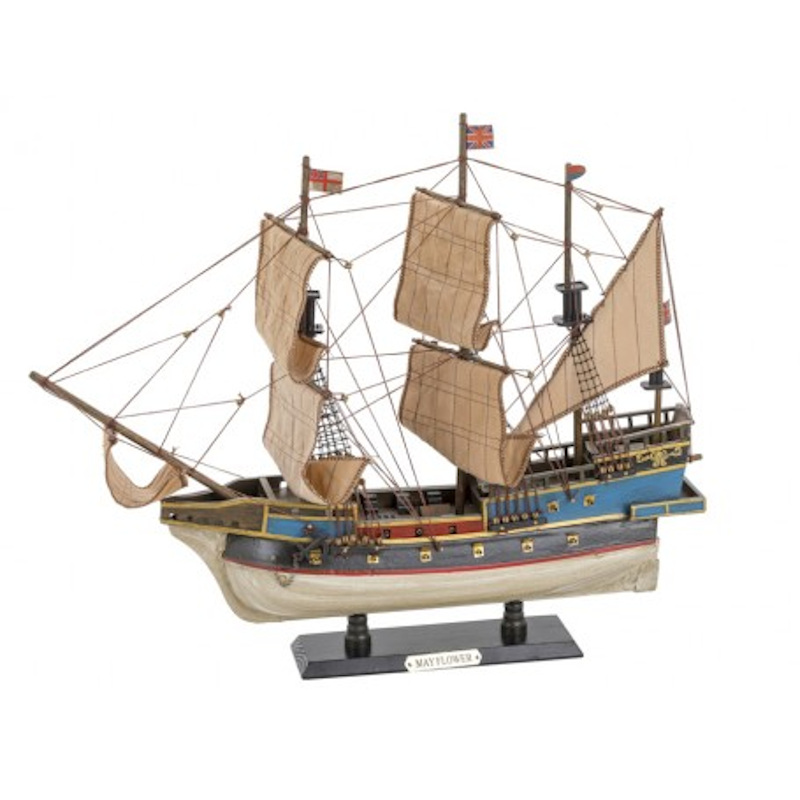 Maqueta del Mayflower