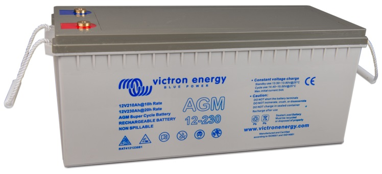 Batería AGM Victron Super Cycle 230 Ah