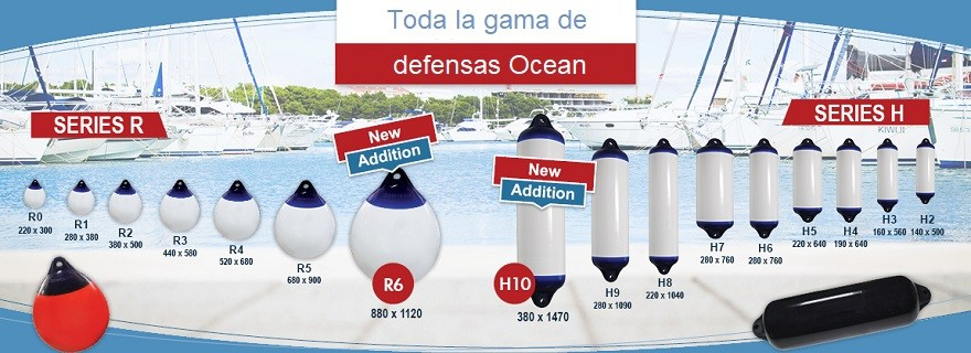 Defensas Ocean
